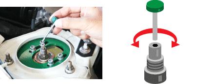 Coilover Rebound Damper Adjustment