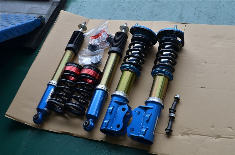 Unboxed Set of Cusco Zero 3 Coilovers