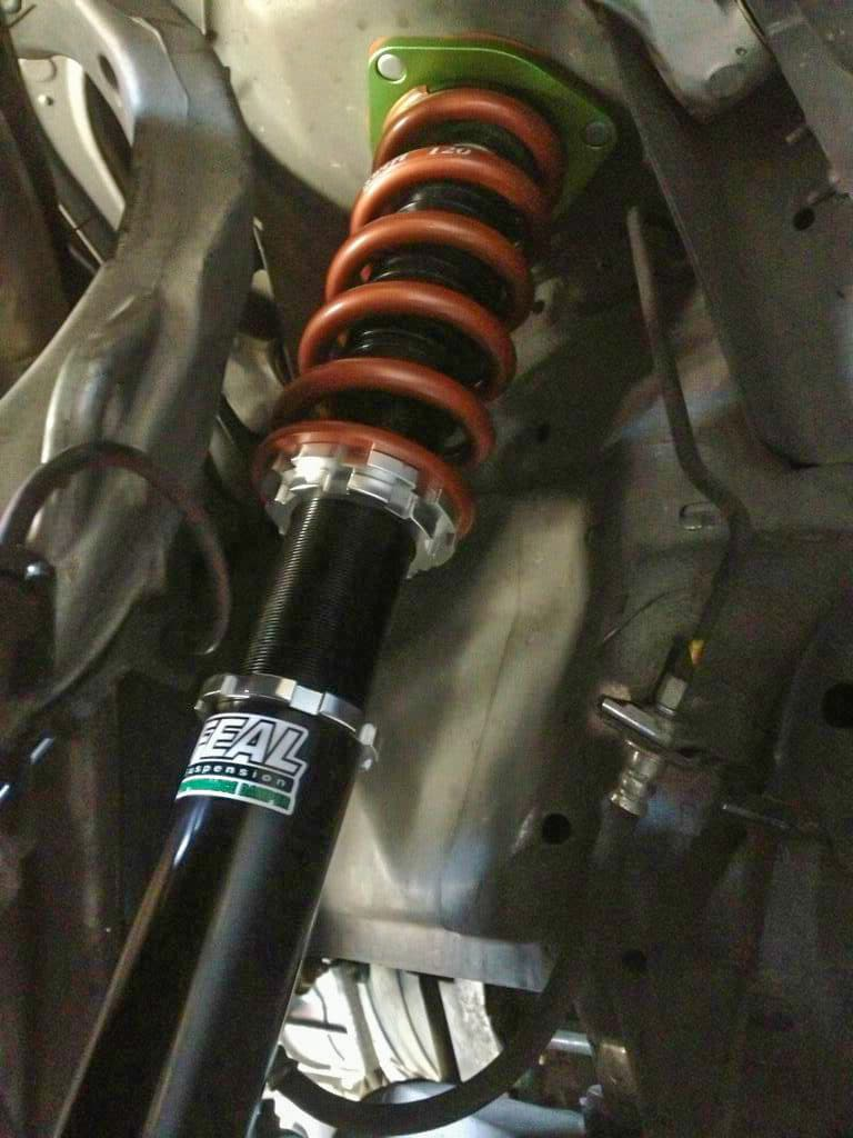 Feal 441 Coilover installed on 350z