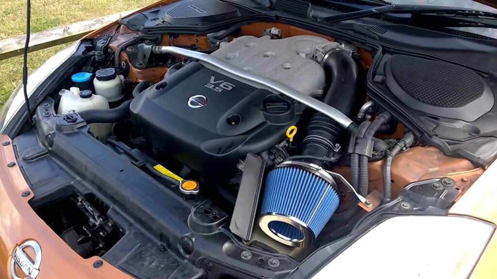 """Jim Wolf """"Pop Charger"""" Nissan 350z Cold Air Intake"""