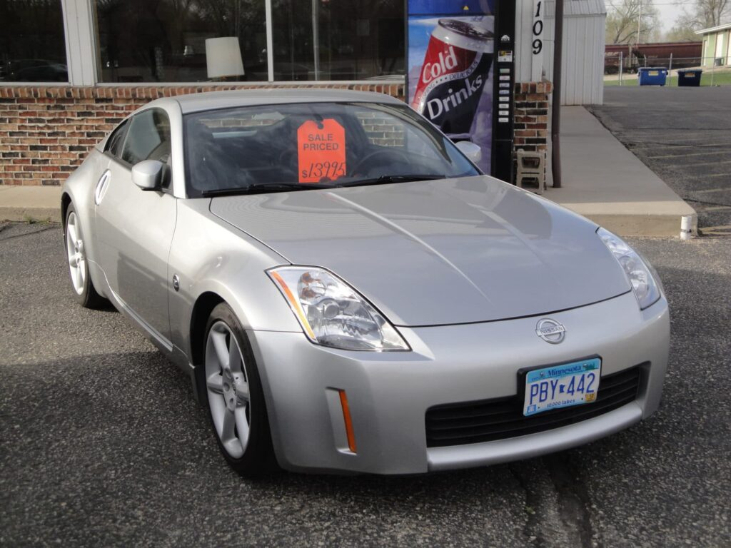 A 2003 Nissan 350z for sale