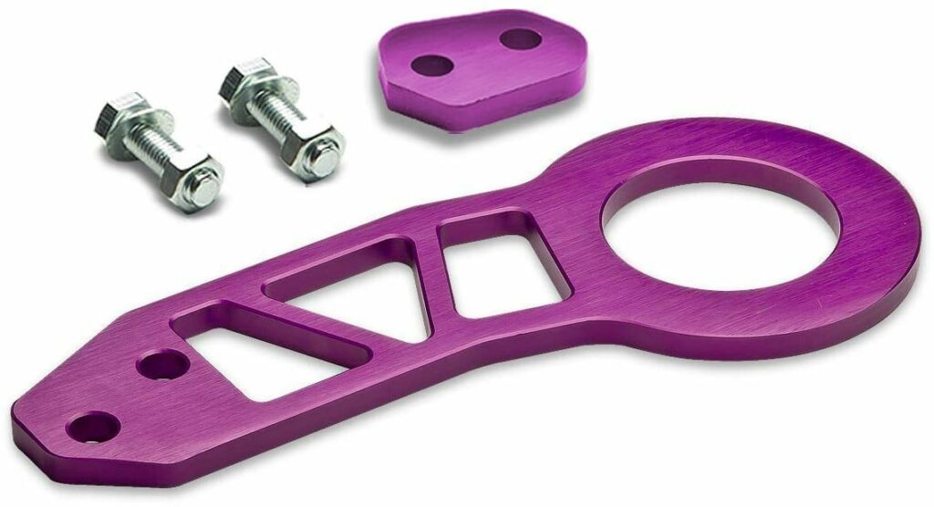 Auto Dynasty Rear 350z Tow Hook in Purple