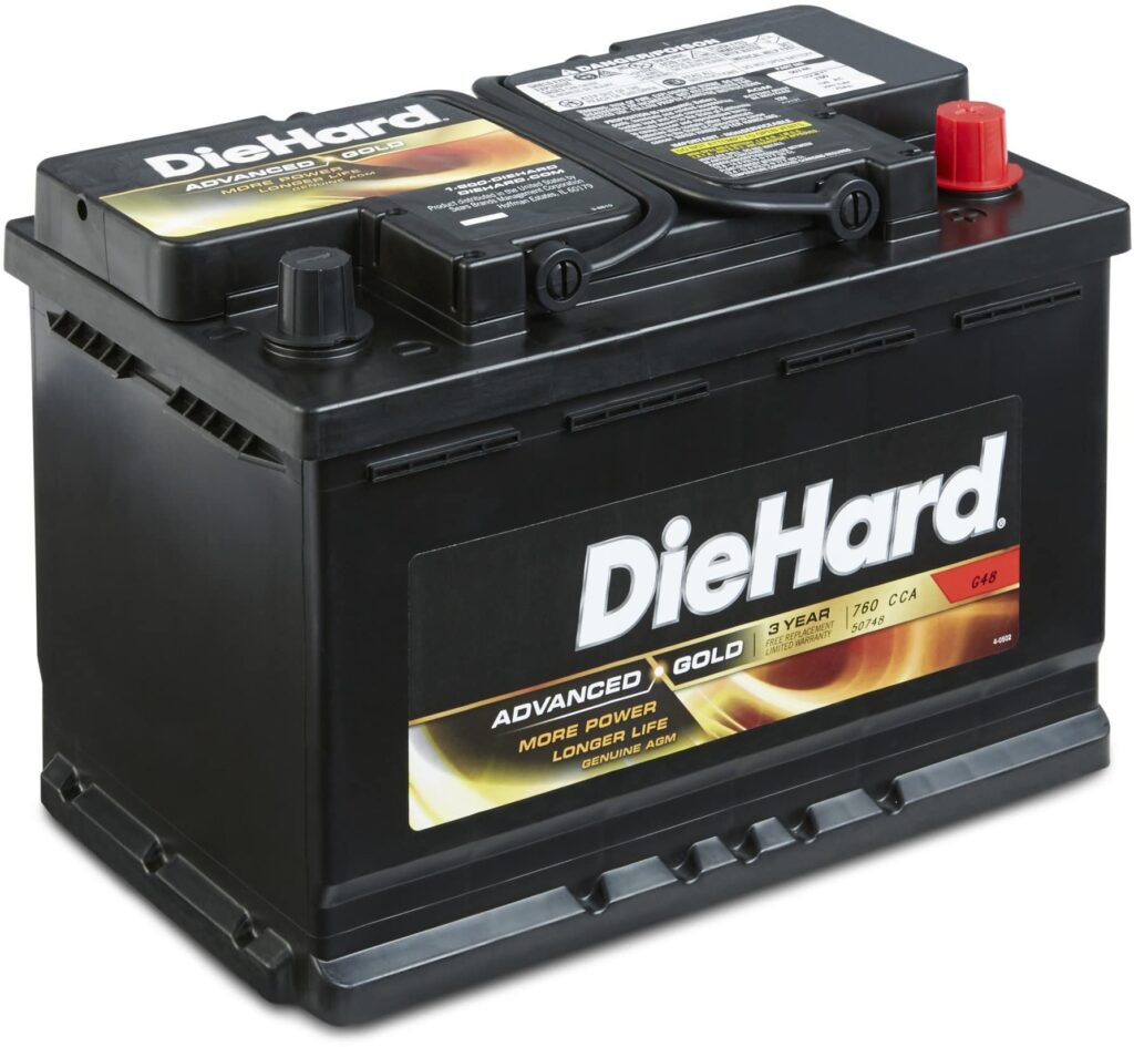DieHard Advanced Gold Battery