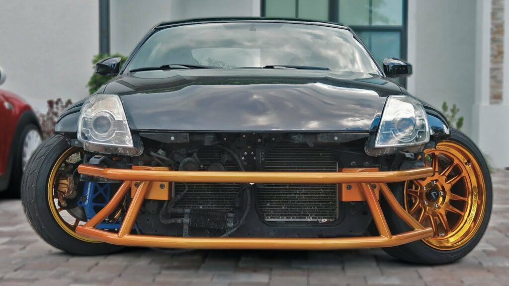 Heliarc Works 350z Drift Bar
