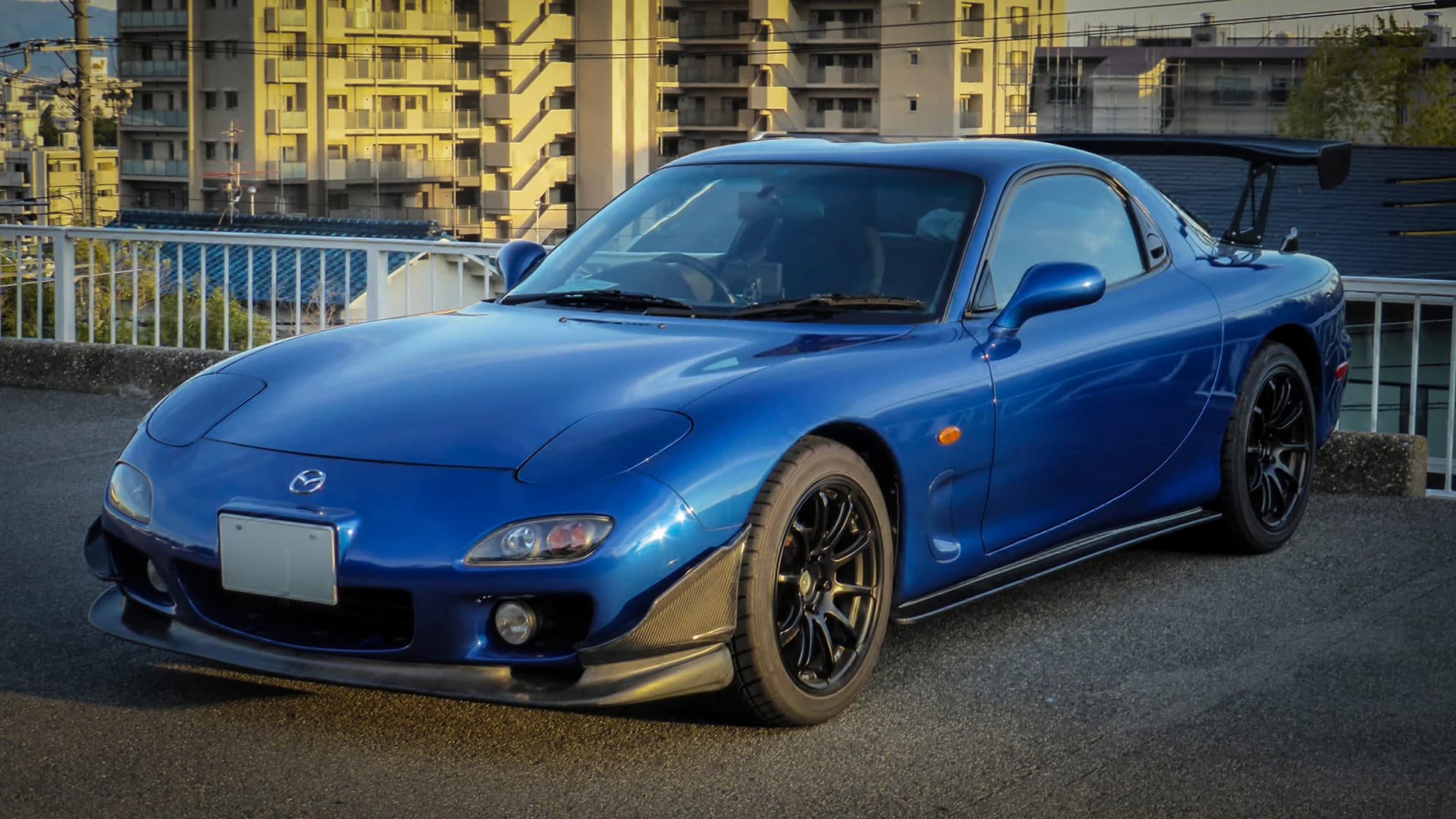 Modified Mazda RX-7 FD3S