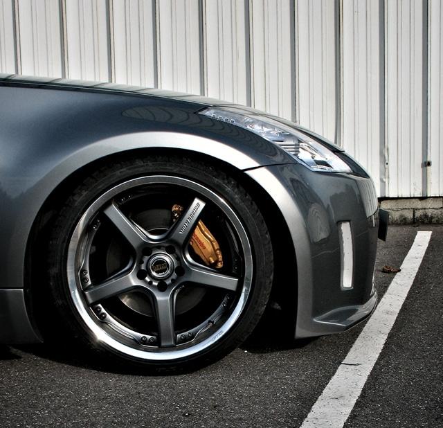 Nissan 350z Brembo Brakes