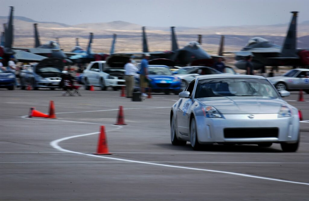 Nissan 350z in competition use