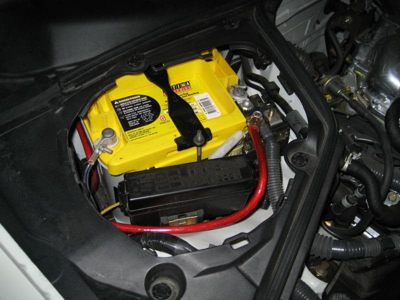 Is The Optima Yellowtop Best 350z Battery
