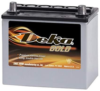 Deka 8AMU1R NA Miata Battery