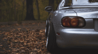 Mazda Miata Lowered on Coilovers
