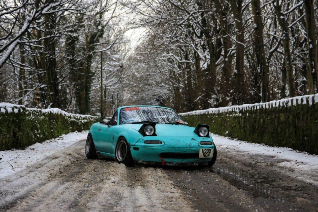 Miatas in snow and cold climates