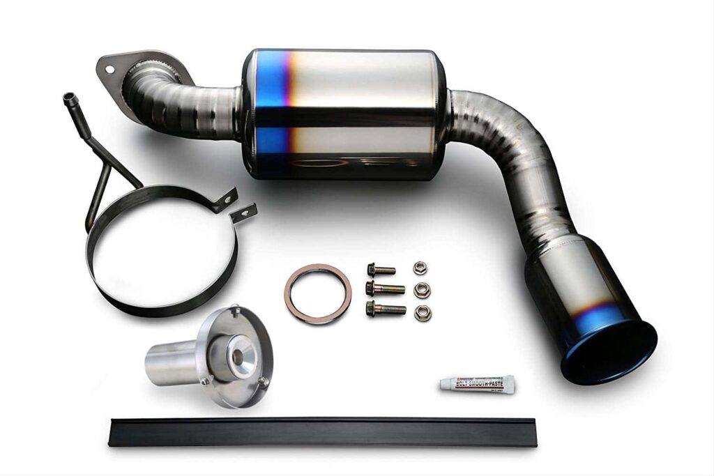 Tomei Expreme Titanium Exhaust for NC Miatas