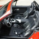 Corbeau A4 Miata Seats in an NA MX5