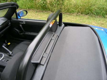Hard Dog MX5 Roll Bar - Single Loop