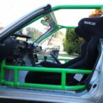 Sparco Circuit Racing Seat in a Track Prepped MX-5