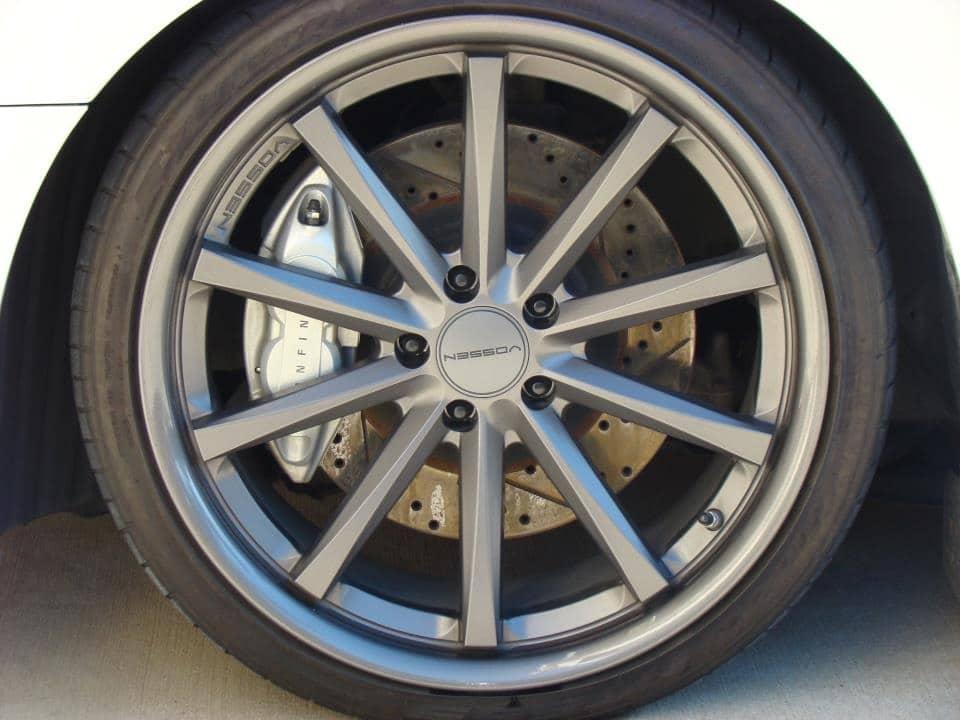 Akebono Infiniti G35 Big Brake Kit