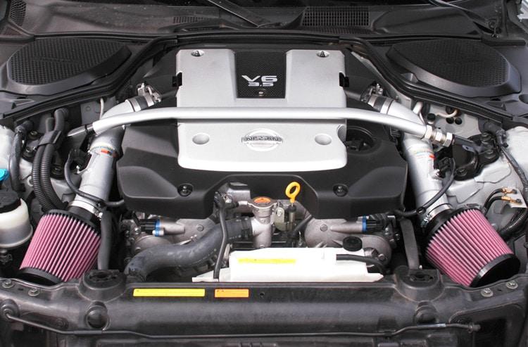 K&N 69-7071TS Installed in a Nissan 350z