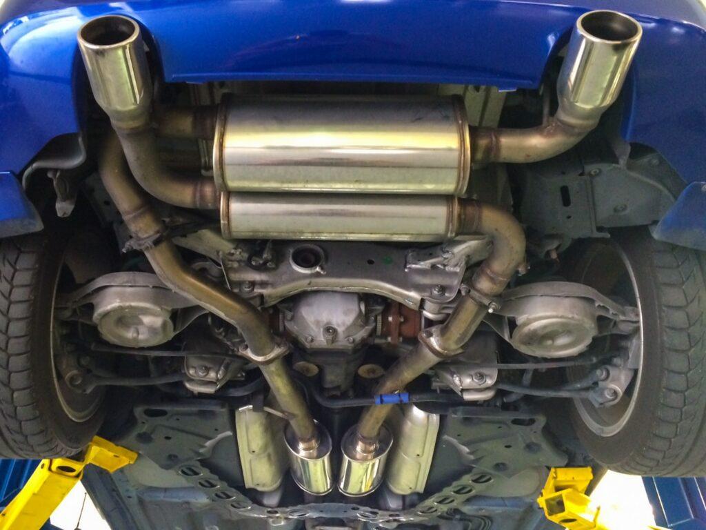 Stillen Nissan 350z Exhaust System