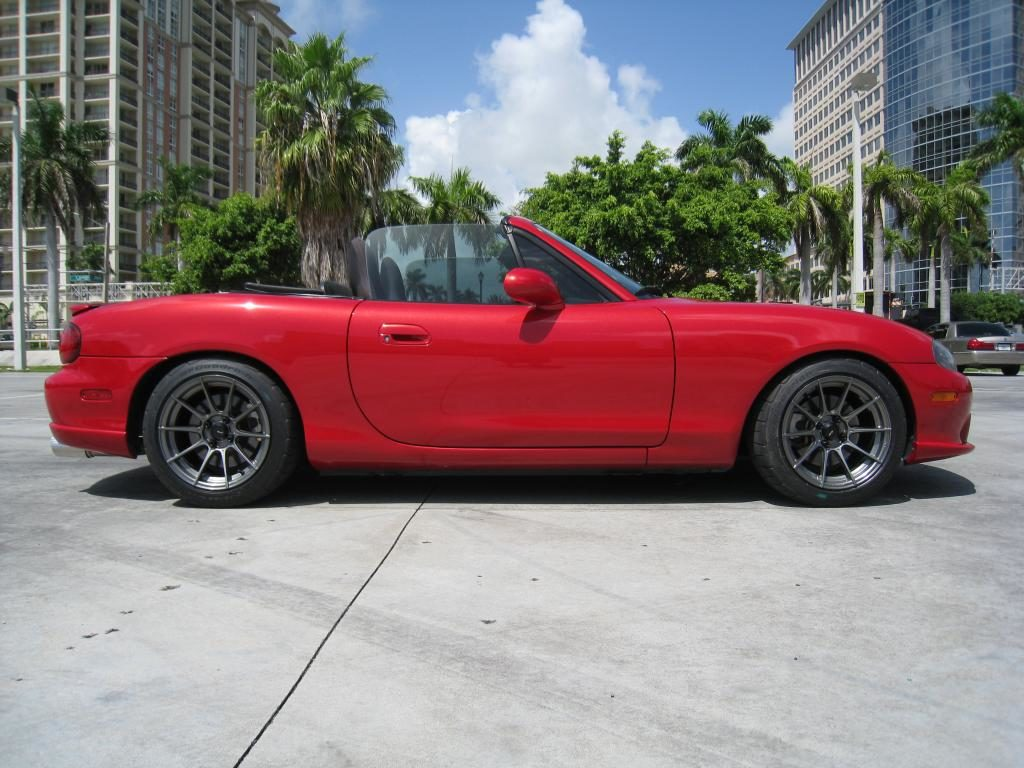 Advanti Storm S-1 Wheels on a Mazda Miata