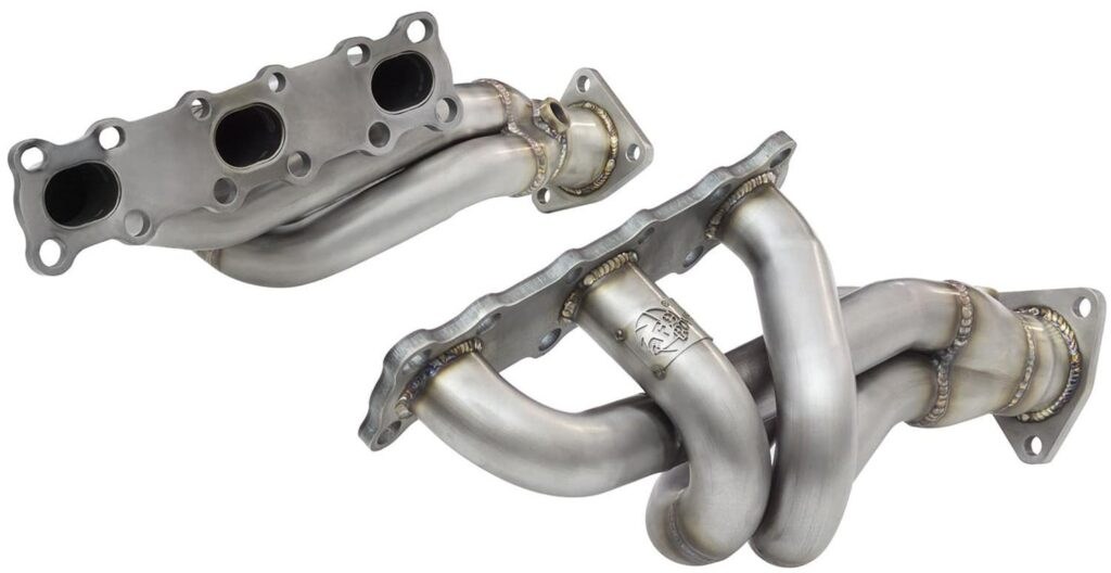 aFe Power Twisted Steel Headers for 350z