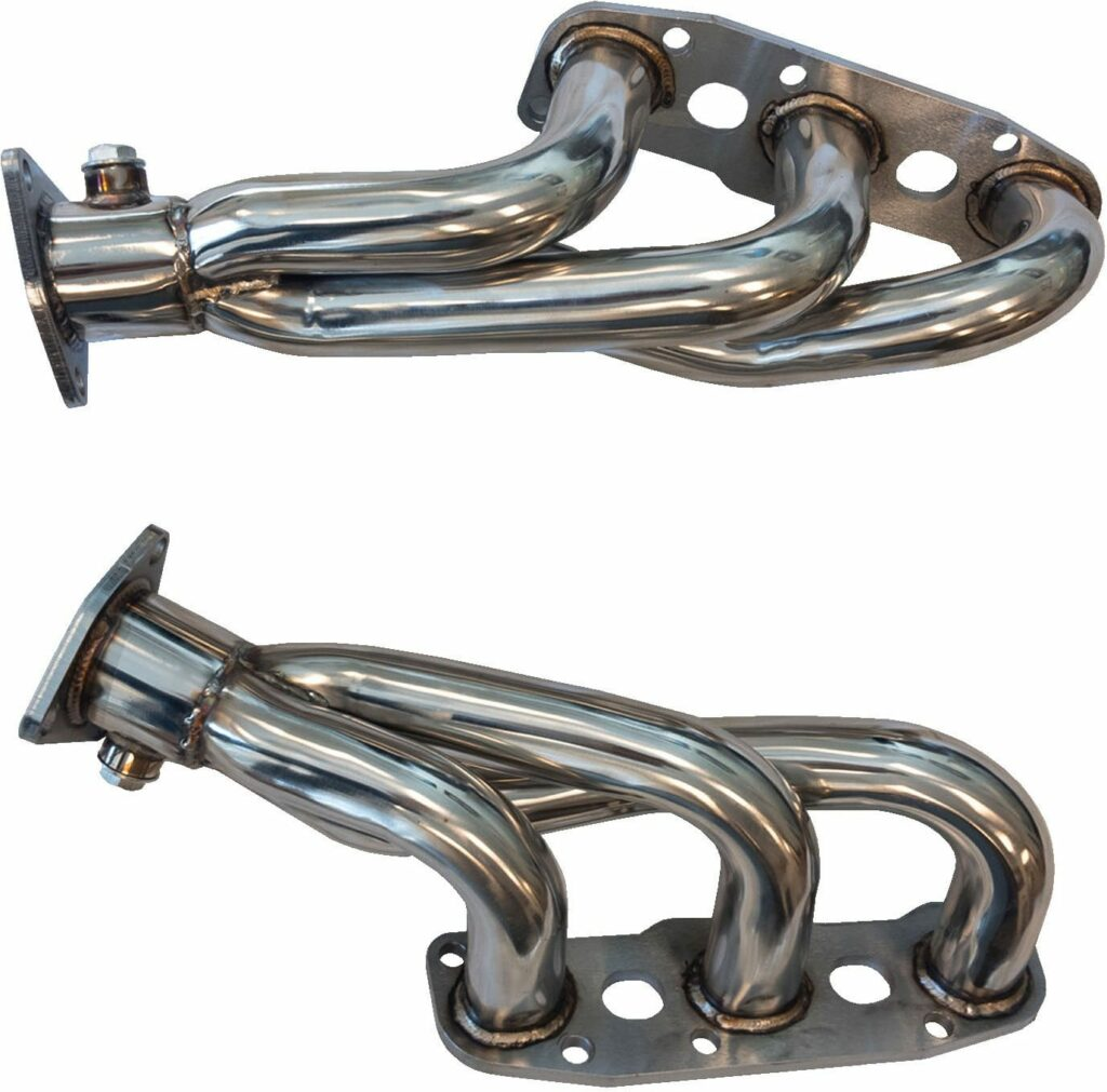 Linesracing Stainless Steel 350z Exhaust Headers