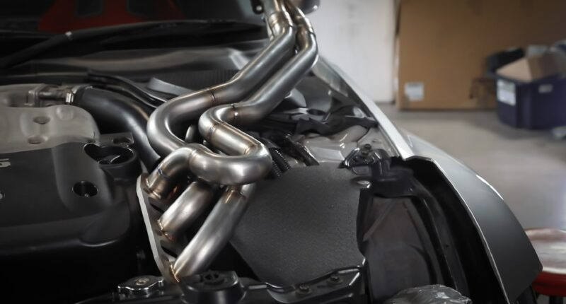 Nissan 350z Exhaust Headers