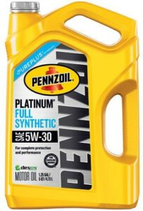Pennzoil Platinum 5W-30 Full Synthetic Engine Oil