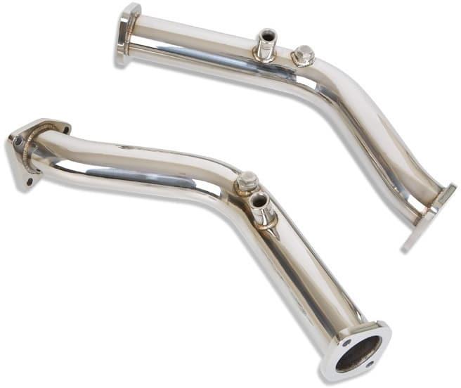 Berk Test Pipes for Nissan 350z
