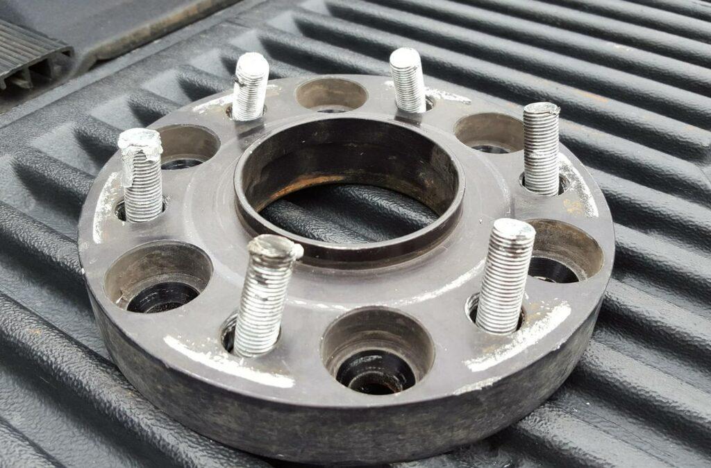 Damaged Wheel Spacer