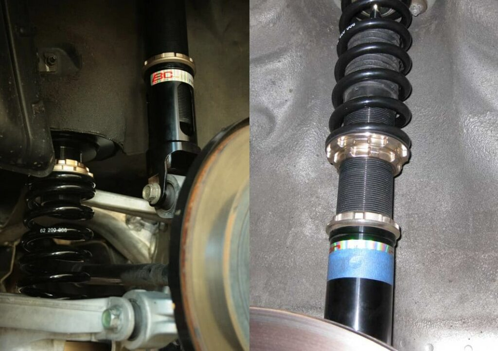 Infiniti G35 OEM vs True Coilovers