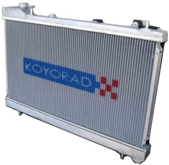 Aluminum Miata radiator upgrade by Koyorad