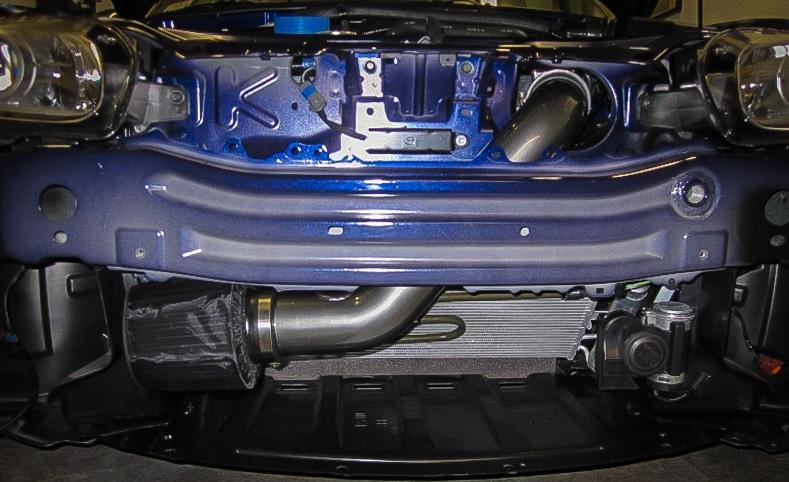 AEM NC Miata cold air intake with Hydroshield