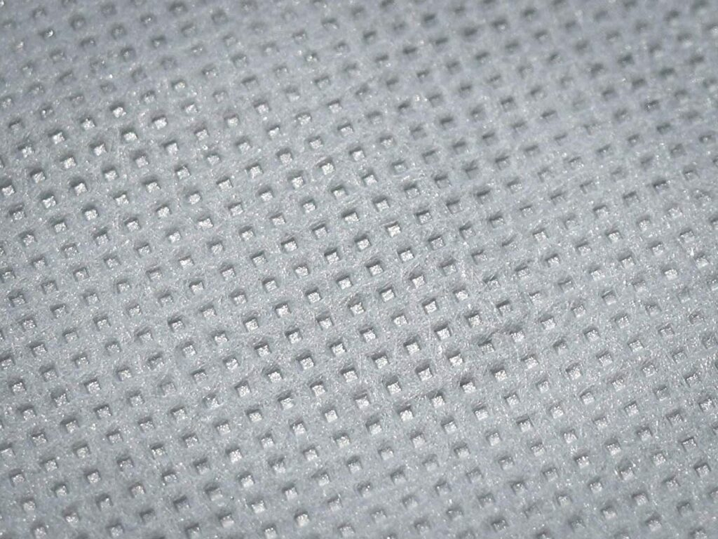 Dust proof fabric close-up
