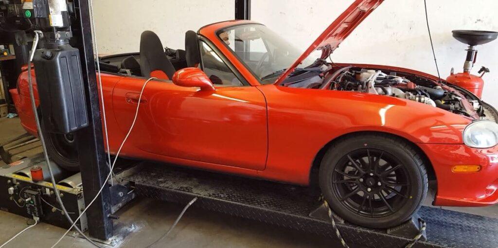 Mazda Miata dyno tuning