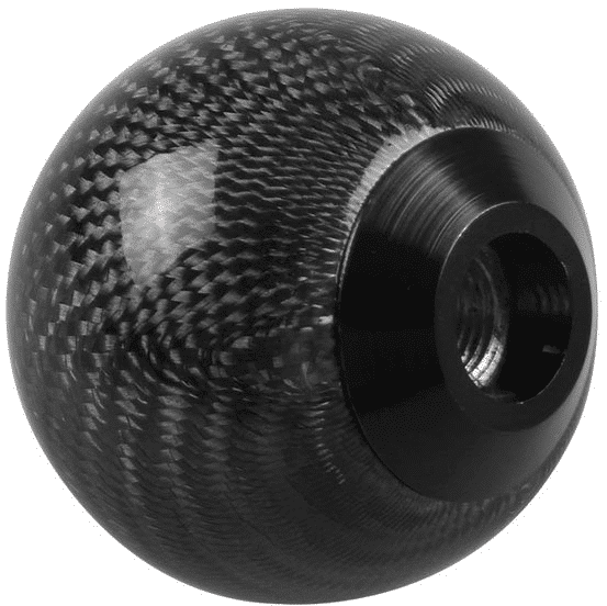Ryanstar Round Carbon Style Shift Knob