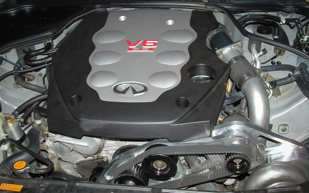ATI Procharger installed on Infiniti G35
