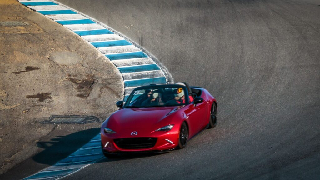 Mazda Miata are prone to body roll