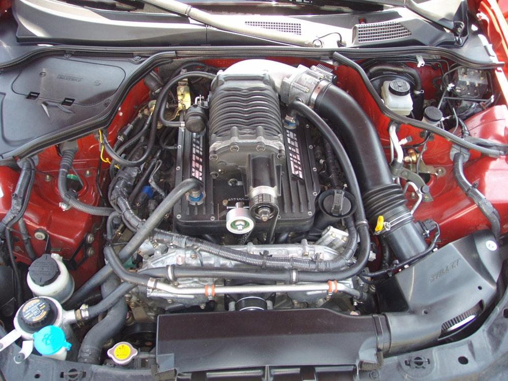 Supercharged Infiniti G35