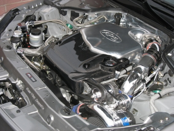 Vortech supercharger kit for Infiniti G35's with VQ35DE engines