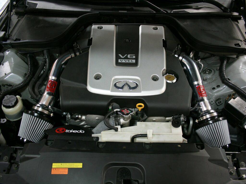 aFe's Takeda dual G37 intake