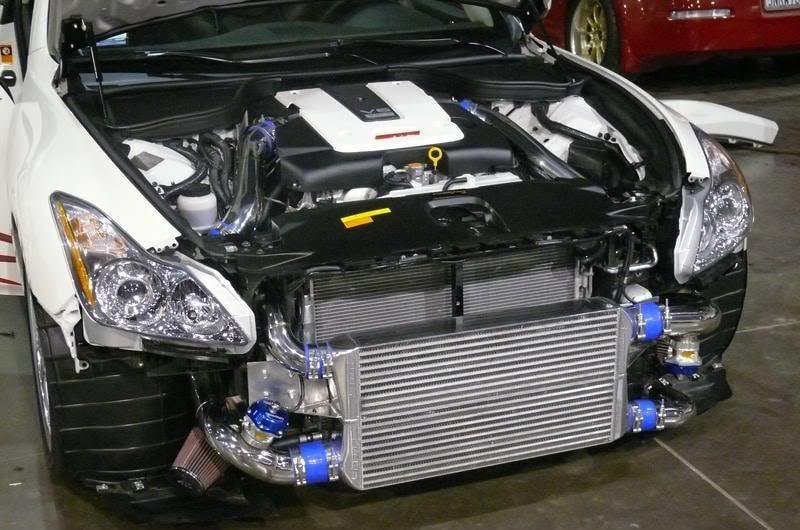 Infiniti G37 twin turbo upgrade