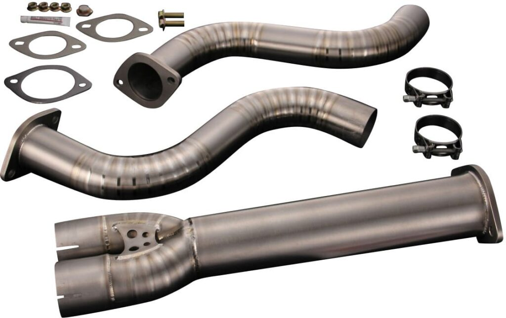 Tomei Expreme Titanium Y-Pipe for high performance G35 coupes