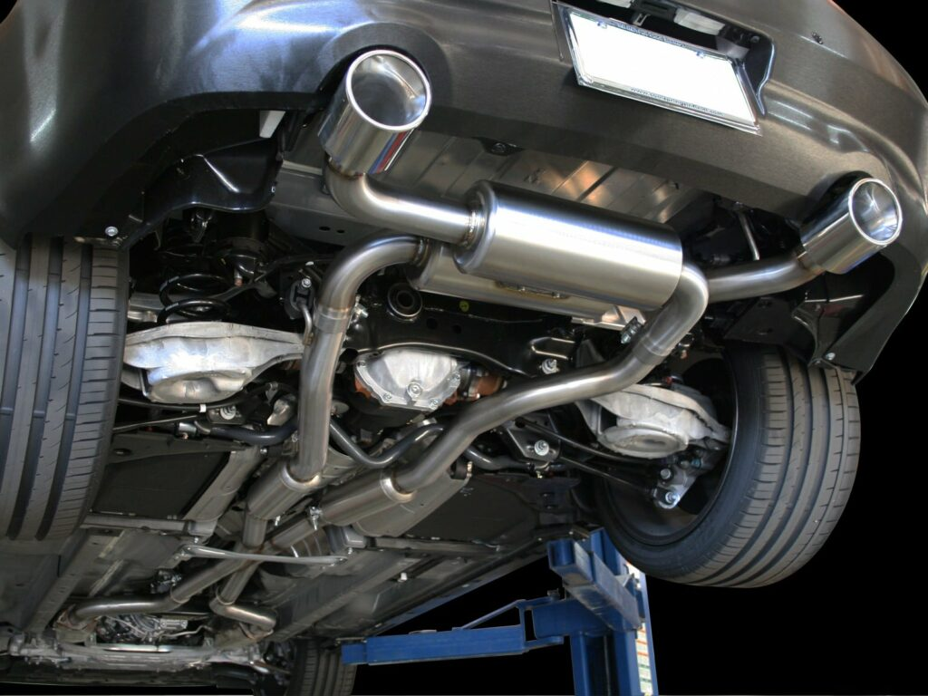aFe Takeda stainless steel Infiniti G37 cat-back exhaust system
