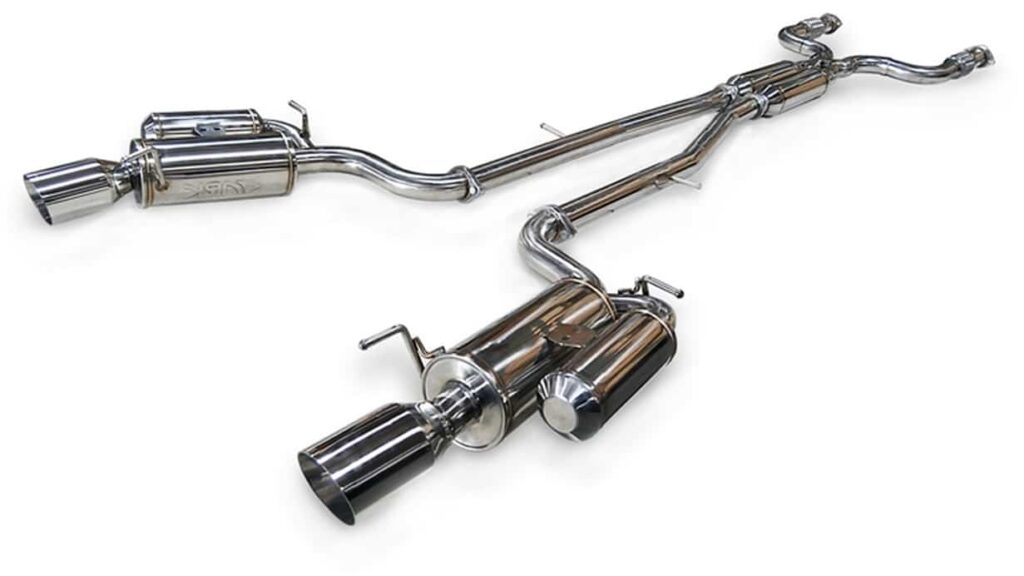 ARK's GRiP is one of the best G37 exhaust systems available