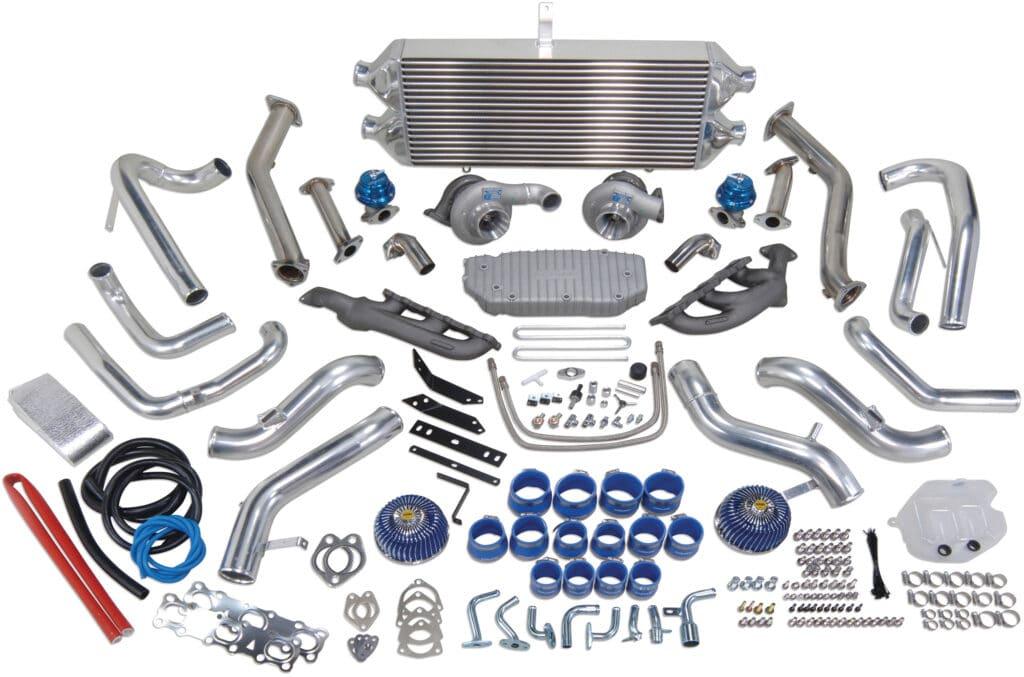 Greddy G37 twin turbo kit