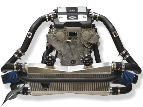 Infiniti VQ37VHR twin turbo kit by Fast Intentions