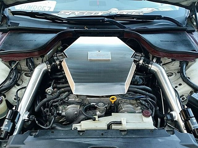 Speed for Racing's Nissan 370z twin turbo kit