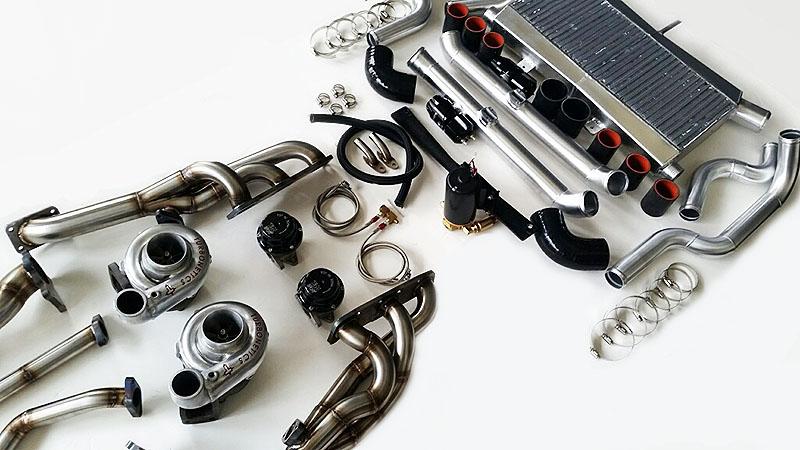 Speed Force Racing's Infiniti G37 twin turbo kit