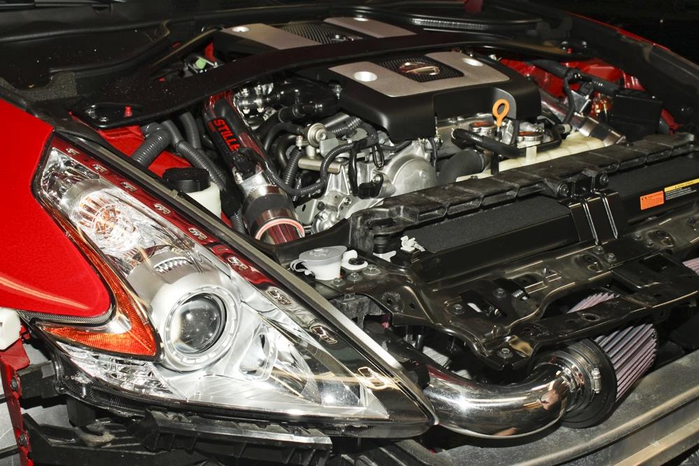 Stillen Gen 3 intake on a Nissan 370z