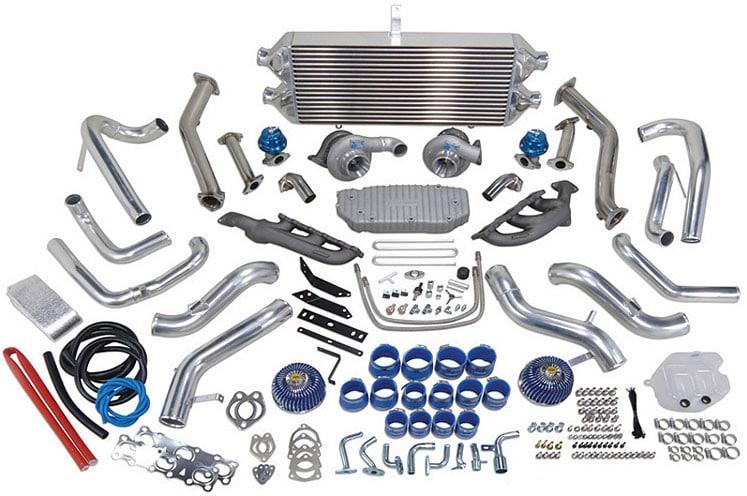 Greddy's Nissan 350z twin turbo kit